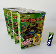 TMNT Set: Raphael, Donatello, Leonardo & Michelangelo Japan Tomy Takara MISB!!
