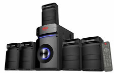 Rockville HTS45 600w 5.1 Canales Sistema De Audio Home Theater bluetooth + subwoofer