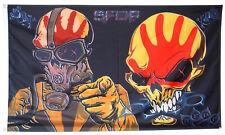 Five Finger Death Punch Skull Flag Banner 3x5 Ft Man Cave Wall  Decor
