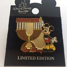 WDW - Hanukkah 2001 Mickey Mouse Limited Edition Disney Pin 8551