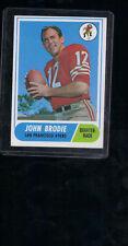 1968 Topps #139 John Brodie  ex-mt