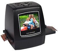 35mm Negative Slide Film Scanner Photo Digitalizer Analog to Digital 2.4'' LCD