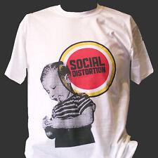SOCIAL DISTORTION HARDCORE PUNK ROCK T-SHIRT rancid bad religion nofx S-3XL