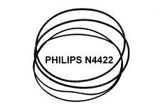 SET CINGHIE PHILIPS N 4422 REGISTRATORE A BOBINE EXTRA FORTE NUOVE FRESCHE N4422