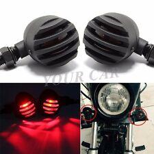 12V Red Bullet Tail Brake Turn Signal Light For Harley Sportster XL 883 XL 1200