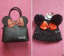 Primark Girls Disney Minnie Mouse Purse & Hat