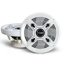 "Bazooka MAC8100W 8"" White Marine Coaxial Speakers"
