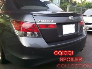 Painted Honda 08-12 Accord Sedan OEM type trunk spoiler color: NH737M ◎