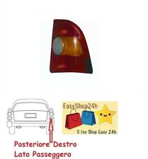 FARO FANALE FANALINO POSTERIORE DX PER FIAT STRADA PICK UP 97 GRUPPO OTTICO STOP