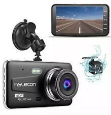 """New listing Dash Camera for Cars,hyleton 1080P Hd Dual Dash Cam Front and Rear,4"""" Ips Screen"""