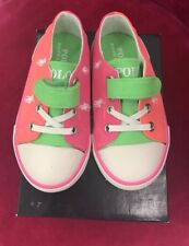 POLO RALPH LAUREN Infant Toddler Girls Slip-On Sneaker Shoes -- Size 7
