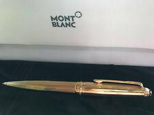 Montblanc Meisterstück 925 Silber Solitaire Vermeil vergoldet Korn neu