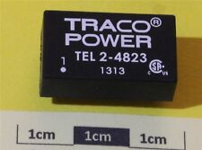 Traco TEL 2-4823 2W Isolated DC/DC Converter, Vin 36 to 72 V dc, Vout ±15V dc, ±