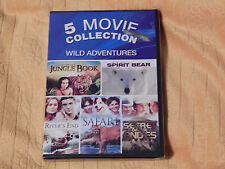 Hollywood Safari/Secret of the Andes + Jungle Book + River's End (DVD) *NEW*