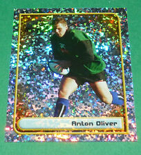 N°70 ANTON OLIVER NEW ZEALAND ALL BLACKS MERLIN RUGBY IRB WORLD CUP 1999 PANINI