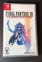 Final Fantasy XII [ The Zodiac Age ] (Nintendo Switch) NEW