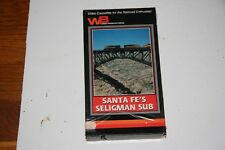 VHS VIDEO TAPE TITLED: SANTA FE'S SELIGMAN SUB   SHOWS SLIGHT USE