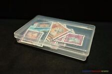 1 x New Stamp Storage Box Case (9.2 x 6.3cm) Philately Stamp Collection Supplies