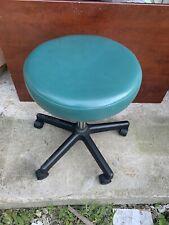 Stool Medical Doctor Office Green Adjustable Dental Exam Chair