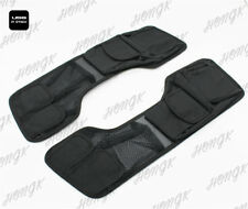Saddlebag Lid & Tour Pak Pack Organizer Set Harley Touring 93-13 Black