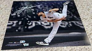 Lucas Giolito Autographed Chicago White Sox Spotlight 11x14 Photograph Fanatics