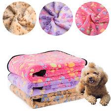 3x Dog Cat Puppy Pet Blanket Cushion Warm Sleep Mat Soft Bed Blankets Supplies