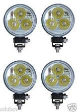 4x 9W LED Inondazione Faro Luce Da Lavoro Lampada Auto Trattore SUV Camion Barca