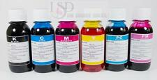 6x100ML Refill Bluk ink for Epson 78 R280 RX580 RX595