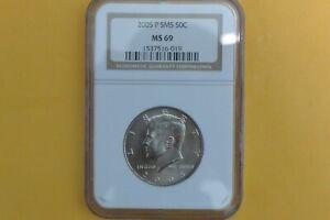 2005-P Kennedy Half Dollar NGC SMS MS69