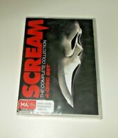 Scream Complete Collection DVD set Brand New & Sealed Region 4 Wes Craven