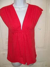 URBAN BEHAVIOR CORAL BLOUSE SIZE MEDIUM WOMEN'S EUC FREE USA SHIPPING