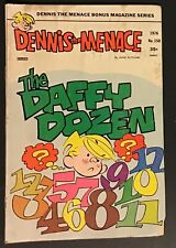 Dennis The Menace Comic #150