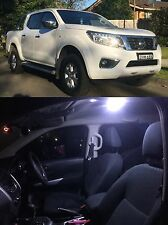 NISSAN NAVARA NP300- DUAL CAB INTERIOR LED LIGHT KIT & LICENSE PLATE LEDS! 2015+