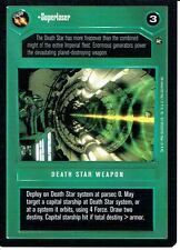 STAR WARS CCG A NEW HOPE DARK SIDE BLACK BORDER SUPERLASER