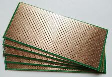 5pcs 6.5x14.5cm Stripboard Veroboard Uncut PCB Platine Circuit Pref Board