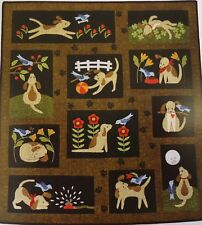 "YOU LUCKY DOG Laser Cut Applique Quilt Kit 42"" x 46"" by MAYWOOD STUDIO"