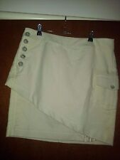 YaYa (Holland) ladies skirt colour oatmeal size 42 (suit 12-14) RRP $215.00 as