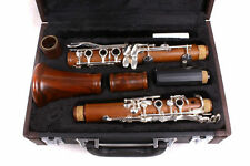 New CLARINET rosewood Bb Key 17 Keys Nice Sound nickel Plated #9