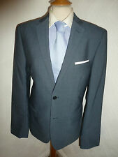 NWOT NEW MENS TED BAKER ENDURANCE BLUE FALL SUIT JACKET 38 WAIST 32 LEG 33.5