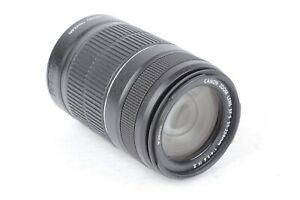 Canon EF-S 55-250mm f/4-5.6 IS II Zoom Lens for Canon APS-C Cameras #D08263