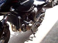 R&G RACING Crash Protectors,Kawasaki Z750 / Z750S / Z1000 all up to 2006 *BLACK*