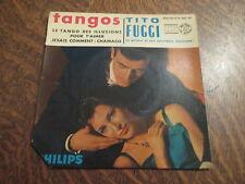 45 tours tito fuggi, sa guitare et son accordeon electriques tangos
