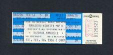 Original 1986 Barbara Mandrell unused concert ticket Universal City CA