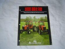 Allis Chalmers 6080 6060 tractor  brochure