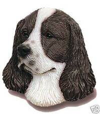 SPRINGER SPANIEL Liver * K-9 Kreations Dog Head MAGNET