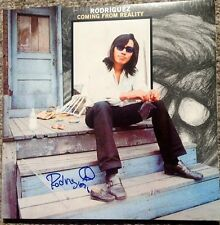 "SIXTO RODRIGUEZ SIGNED AUTOGRAPH ""COMING FROM REALITY"" NEW ALBUM LP VINYL PROOF"