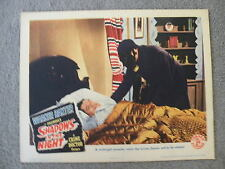 Warner Baxter in Shadow in the Night a Crime Doctor picture Lobby card 1944