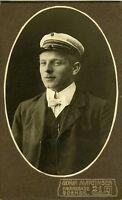 DANEMARK DENMARK ODENSE étudiant  militaire CDV photo circa 1890