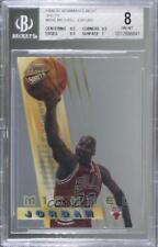 1996-97 Bowman's Best Shots Michael Jordan #BS6 BGS 8 HOF