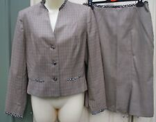 ALAIN MANOUKIAN 100% wool suit skirt size 40 /M